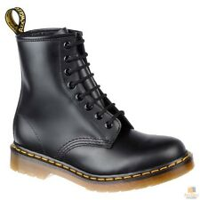 DR. MARTENS Unisex 1460Z DMC 8 Lace Up Genuine Smooth Leather Boots