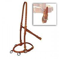 Marjoman Horse Straightness Training Leather Lunge Cavesson