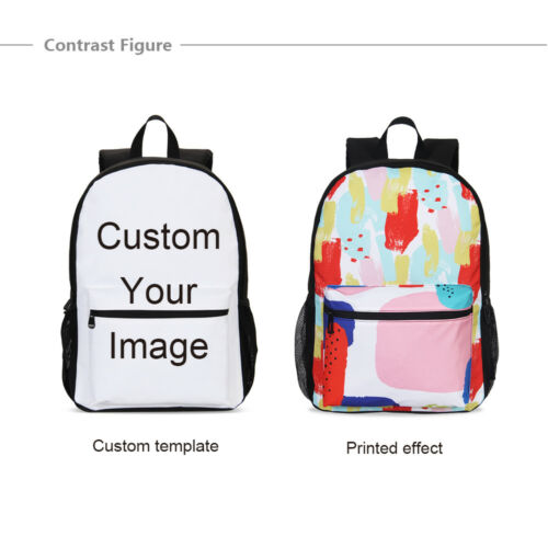 Colorful Dolphin Kids Girls 17 inch Backpack Small Cross-body Purse Wholesale