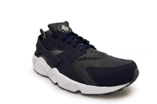Scuro 038 Uomo Sportive Navy Nike Air 318429 Huarache Grigio Scarpe Blu xxIYO