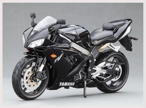 1 12 Yamaha Yzf R1 Motorcycle Racing Motor Bike Diecast Maisto Model Toy Black For Sale Online Ebay