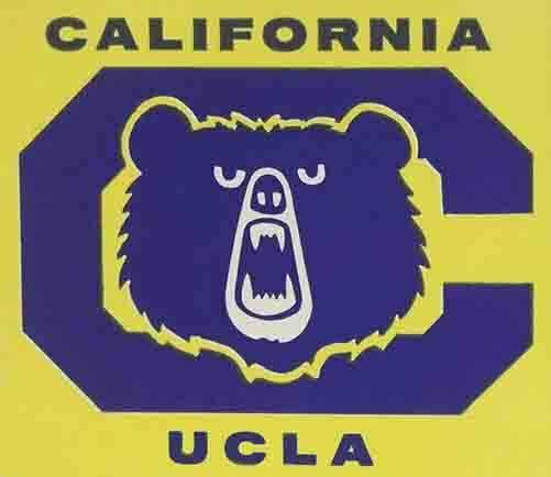 UCLA University California  - Bruins  Vintage Looking  Sticker College Decal