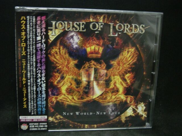 HOUSE OF LORDS New World - New Eyes + 1 JAPAN CD Giuffria Quiet Riot Whitesnake