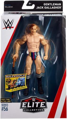 WWE GENTLEMAN JACK GALLAGHER MATTEL SERIES 56 ELITE WRESTLING ACTION FIGURE RAW