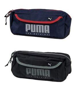 PUMA SOLE Waist Bags Sports Black Navy Waistbelt Running Bag Sacks ... 50135b0d4b
