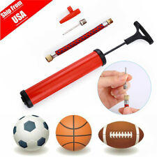 Ball Inflator Hand Air Pump Needle Compact For Football Basketball Socce ttSJPT
