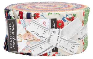 Moda-Good-Times-Jelly-Roll-2-5-034-Fabric-Quilt-Strips-21770JR-J11