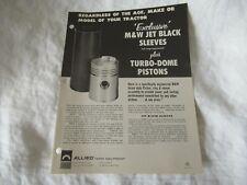 Mampw Piston Overhaul Tractor Brochure John Deere 420 Allis Chalmers Ford Case