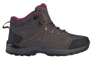Details zu McKINLEY Damen Trekking Wander Outdoor Schuhe Kona MID VI Boots Aquamax 288404