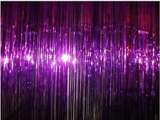 Purple glitter Foil tinsel door Curtain   GREAT FOR PARTIES