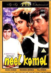 Neel-Kamal-Rajkumar-Waheeda-Brandneu-Bollywood-DVD-Englisch-Untertitel