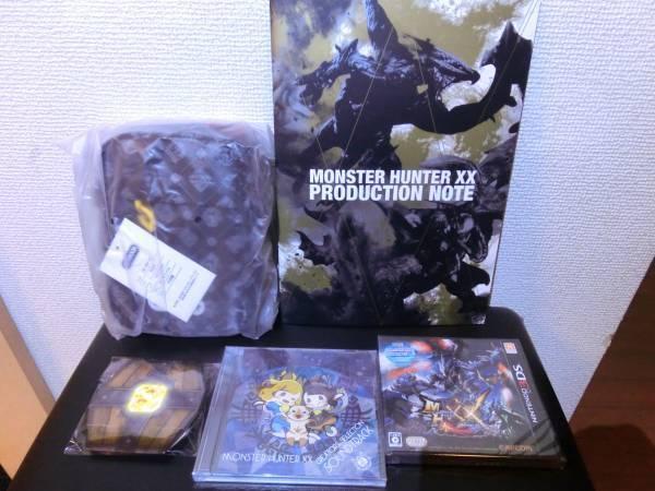 E -Capcom Limitato Mostro Cacciatore Doppio Croce 3ds