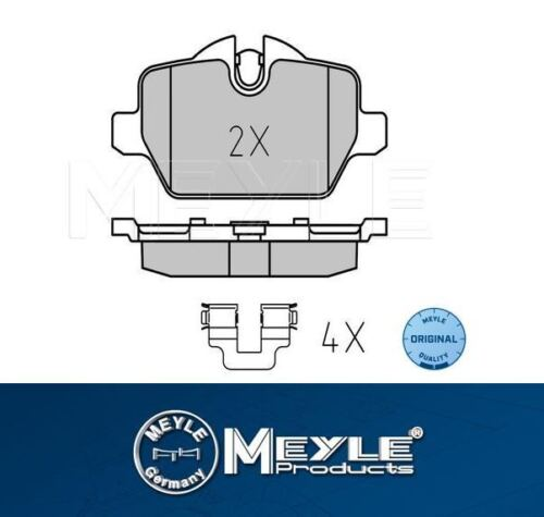 318 Rear Brake Pad Set MEYLE Platinum BMW oe 34216788183 BMW E90 316