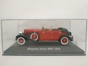 1-43-HISPANO-SUIZA-H6C-1934-COCHE-DE-METAL-A-ESCALA-SCALE-DIECAST
