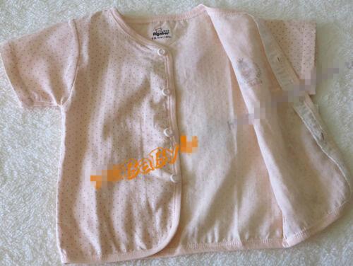 Baby Infant Kids Muslin 100/% Cotton Short sleeves sleepwear Sleep Pajama Set 0