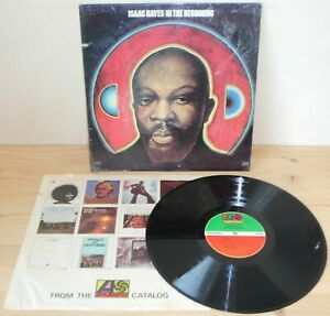 LP ISAAC HAYES In the beginning (Atlantic 67/72 USA) 2nd ps unique funk soul VG+