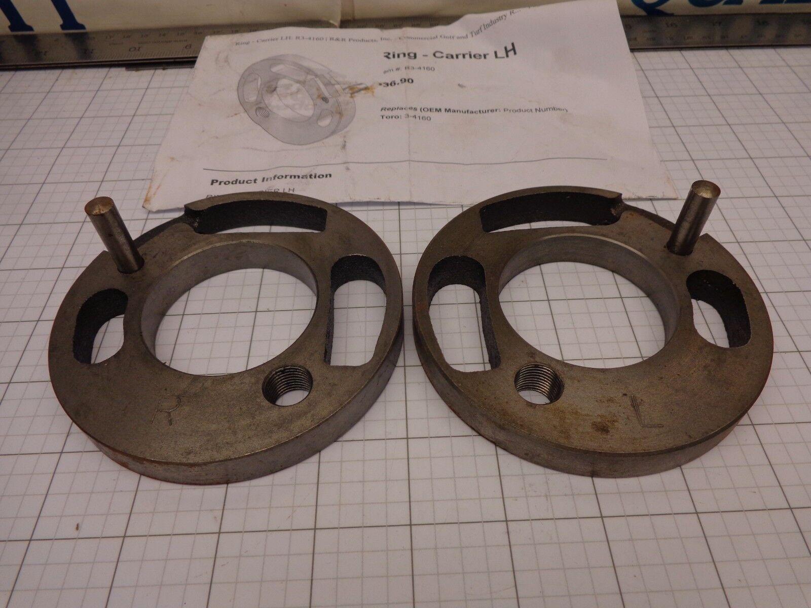 R&r R3-4160 & R3-4170 Anillo de portadora izquierda & derecho sustituye Toro 3-4160 y 3-4170