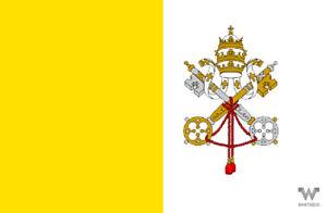 Flagge-Vatikanstadt-Aufkleber-8-5-x-5-5-cm-Fahne-Sticker-WHATABUS