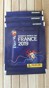 Panini-Frauen-women-France-2019-tuten-bustina-sobre-rare-BACK-FRONT-code-Dutch
