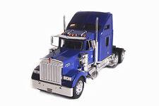 Welly 1:32 Kenworth W900 Semi Tractor Trailer Truck Diecast Metal Model Violet