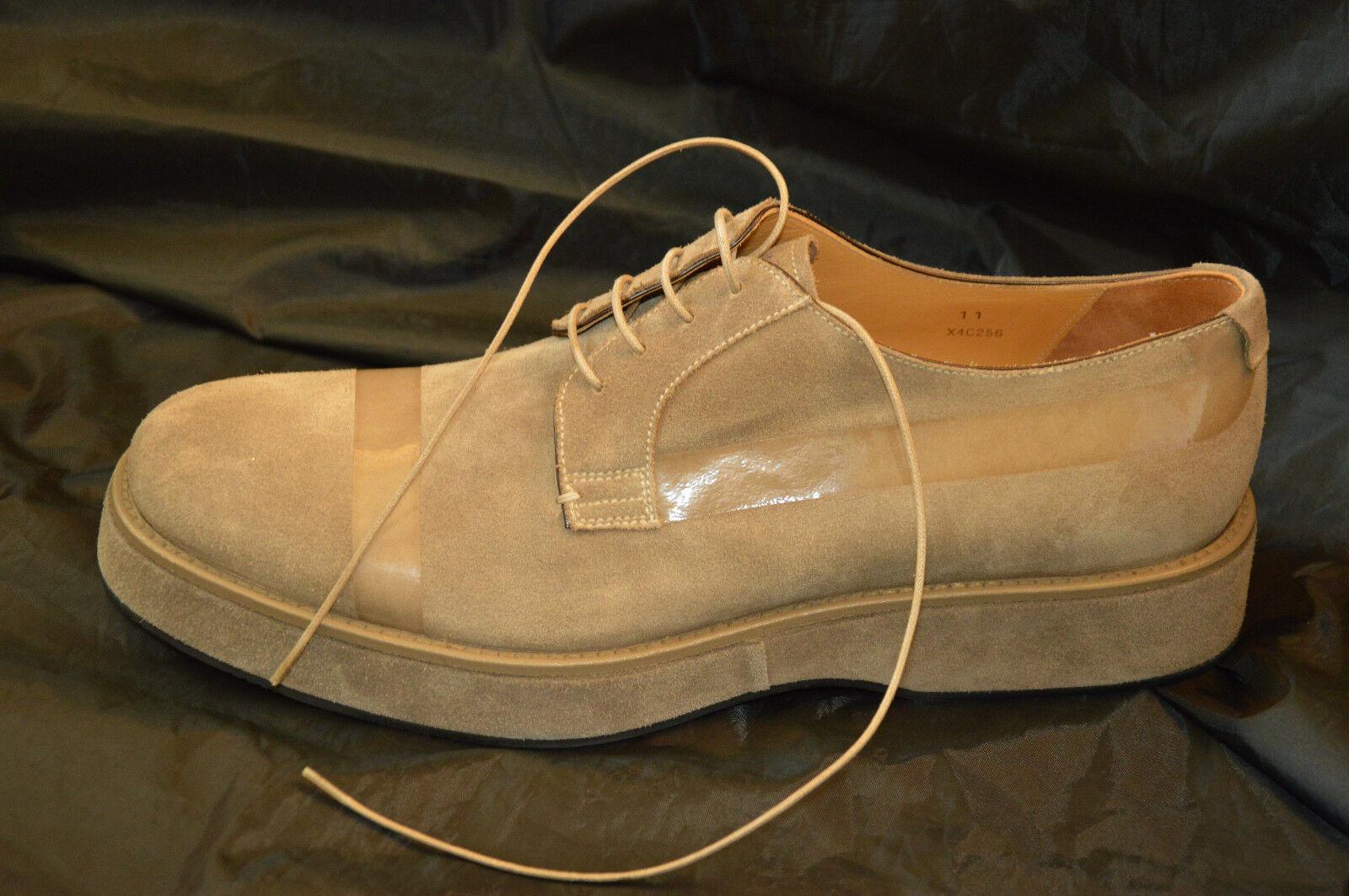Emporio Armani echt Leder Schuhe 45 11 NEU