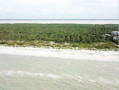 Terreno en venta Cuyo Yucatan con playa
