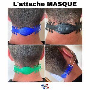 Attache Confort Pour Masques De Protection ACDC Musique Groupe