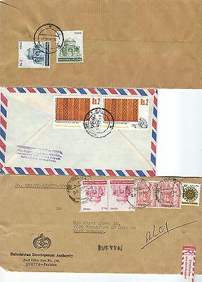 Alle Welt Pakistan Lot Lupo Briefe Teils R-briefe Aus Den 80èrn Hohe QualitäT Und Geringer Aufwand Briefmarken