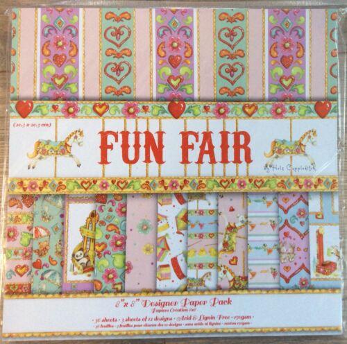 """Fun Fair 8/"""" x 8/""""  Designer Paper **Sample** Pack"""