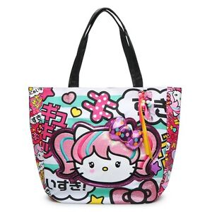 a93f7a2ff Image is loading NEW-Loungefly-Hello-Kitty -Anime-Japanimation-Turquoise-Striped-
