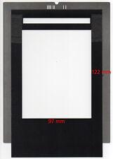Film holder for Imacon Flextight scanners, 97x122mm, scan 4''x5'' & Polaroid 55.
