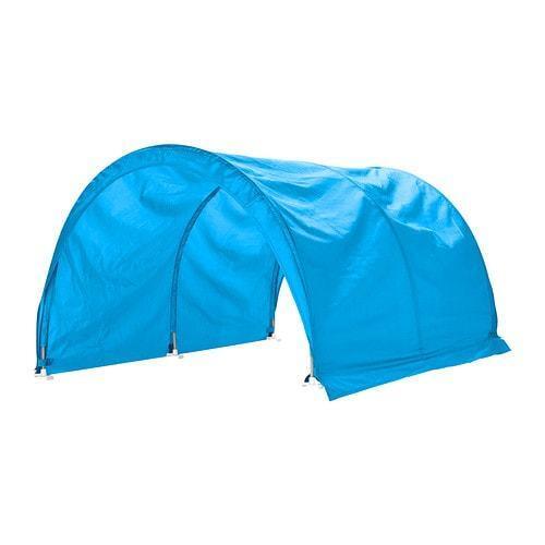 IKEA Kura lit tente Turquois Chambre Enfants Nouveau et scellé lit les UK-C786