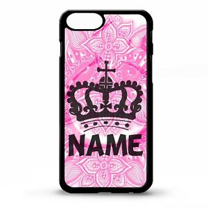 Queen-princess-tiara-crown-girly-graphic-art-personalised-name-phone-case-cover