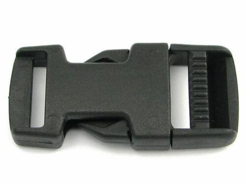 5 precisamente encajable 20mm steckverschluss steckschließer plástico