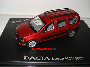 eligor dacia logan break mcv 2006 rouge toreador au 1 43 ebay. Black Bedroom Furniture Sets. Home Design Ideas