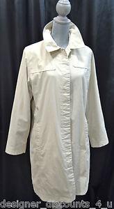 Button Jacket M Lang Down Eddie Trench Sz Front Foret Bauer Tan Frakke Regn Beige HaqOt6q