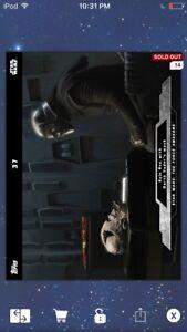 Topps Star Wars Digital Card Trader FA Preview Kylo Ren Base Variant