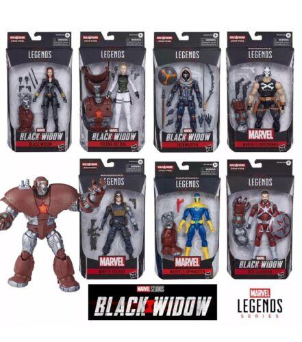 Marvel Legends Series Black Widow Set 7 Figures Crimson Dynamo Hasbro Complete