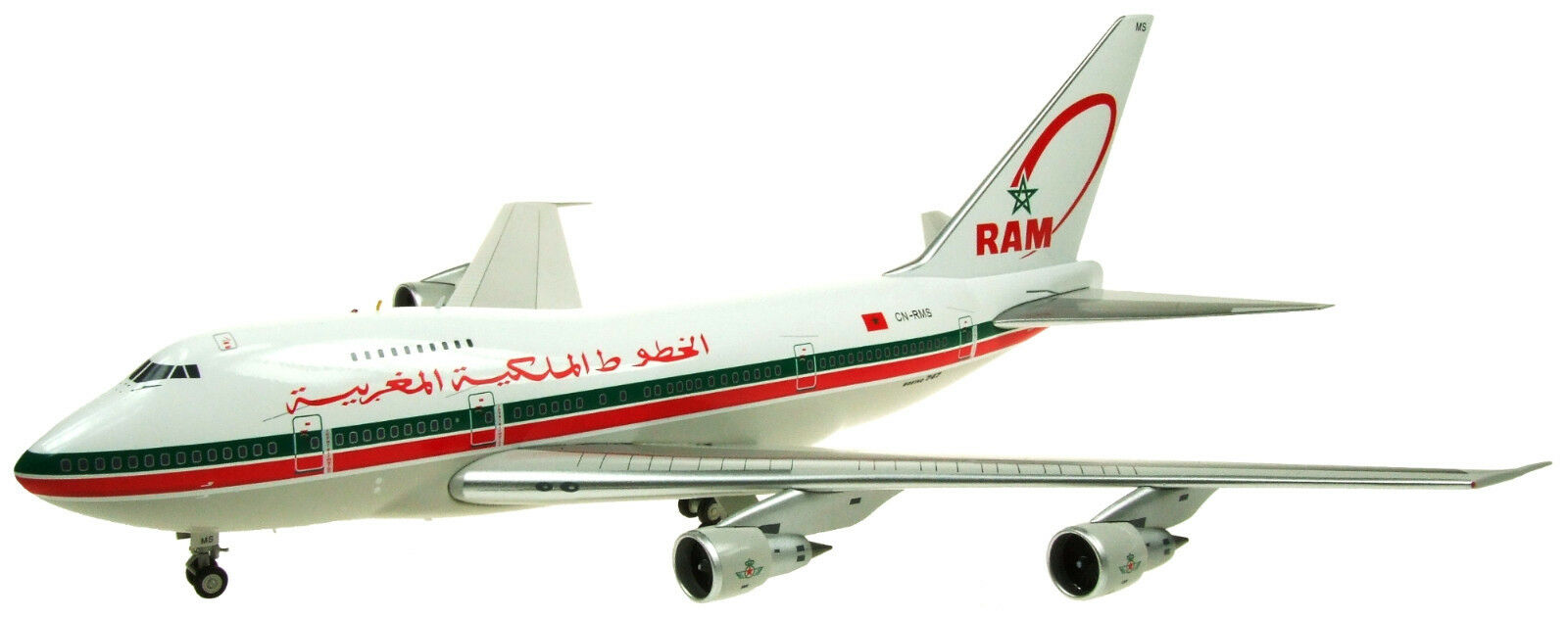 Inflight 200 If747sp0517 1 200 Royale Air Maroc RAM Boeing 747sp Cn-Rms W