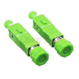 2pcs-FC-APC-Female-to-SC-APC-Male-Fiber-Optic-Adapter-SM-FC-SC-Hybrid-Connector