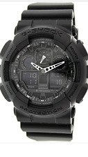 Casio G-Shock GA-100-1A1  Mens Watch 200M Diver  GA100