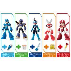 Set of 5 Bandai 66 Action 66ACTION Rockman Mega Man Action Figure Vol 2