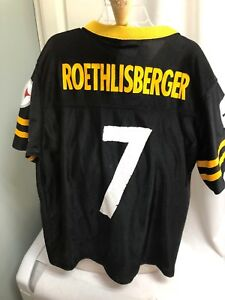 a33351530 Image is loading Ben-Roethlisberger-Pittsburgh-Steelers-NFL-Jersey-Youth -Large-