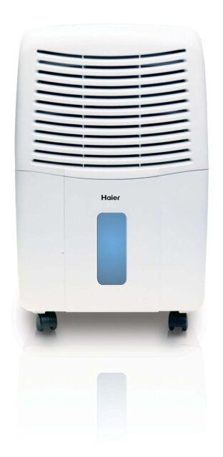 Haier 2-Speed Portable 32-Pint Mechanical Air Dehumidifier with Drain | DM32M