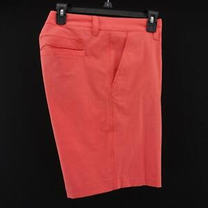 Mens-Southern-Tide-SkipJack-Peach-Performance-Casual-Flat-Front-Shorts-Size-34