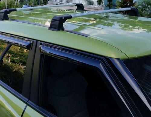 FIX POINT ROOF RACK CROSS BAR CROSS RAIL FOR KIA SOUL 2014-UP