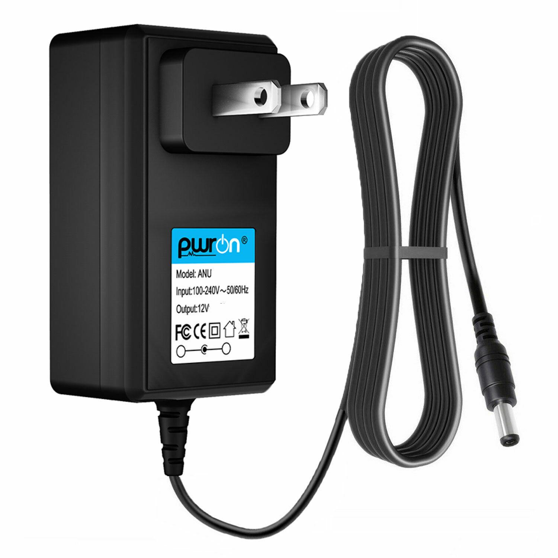 PwrON 12V AC Adapter for Seagate ST90000U2 External Hard Drive HD St300003u2 PSU