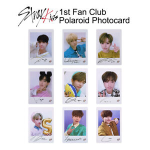 STRAY-KIDS-1st-Fan-Club-Official-Polaroid-Photocard