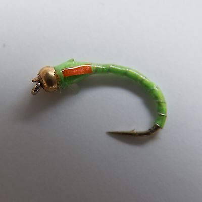 RED GOLDHEAD Epoxy Buzzers Fly Fishing Trout Flies various options