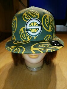 Seattle-Sonics-Supersonics-adidas-NBA-Bravado-Men-039-s-Fitted-Cap-Hat-Size-7-1-8